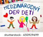 colorful drawing. children's... | Shutterstock . vector #650929699