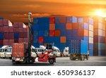 logistics and transportation of ...   Shutterstock . vector #650936137
