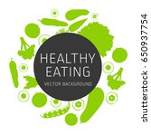 concept of healthy eating ...   Shutterstock .eps vector #650937754