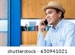 young asian casual businessman... | Shutterstock . vector #650941021