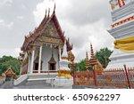 Ubosot  Chapel  Of Wat Mahatha...