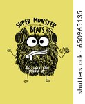 monster sketch 3 | Shutterstock .eps vector #650965135