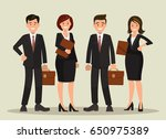 background vector of a business ... | Shutterstock .eps vector #650975389