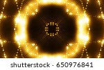 golden glittering lights | Shutterstock . vector #650976841