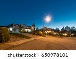 great neighborhood. luxury... | Shutterstock . vector #650978101
