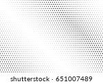 abstract halftone dotted... | Shutterstock .eps vector #651007489