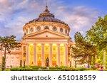 Romanian Atheneum  Bucharest...