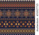 geometric ornament for weaving  ... | Shutterstock .eps vector #651027715