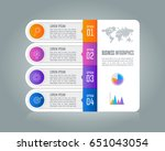 creative concept for... | Shutterstock .eps vector #651043054