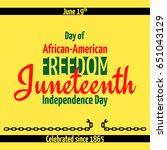 Juneteenth  African American...