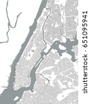 vector map of the new york city ...   Shutterstock .eps vector #651095941