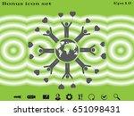 globe  people  icon vector...   Shutterstock .eps vector #651098431