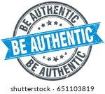 be authentic round grunge... | Shutterstock .eps vector #651103819