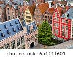 ghent  gent  started as a... | Shutterstock . vector #651111601