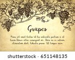 banner template. hand drawn... | Shutterstock .eps vector #651148135