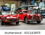 berlin   may 13  2017  car... | Shutterstock . vector #651163855