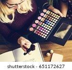 womanism cosmetics beauty... | Shutterstock . vector #651172627