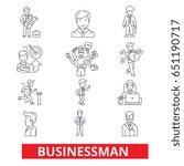 businessman  business  business ...   Shutterstock .eps vector #651190717