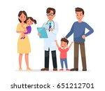 family character vector design... | Shutterstock .eps vector #651212701