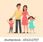 family character vector design... | Shutterstock .eps vector #651212707