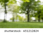 blurry trees nature background | Shutterstock . vector #651212824