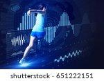 sports engineering concept.... | Shutterstock . vector #651222151