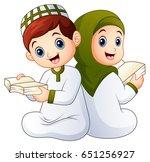 vector illustration of happy... | Shutterstock .eps vector #651256927