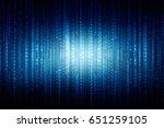 2d illustration technology... | Shutterstock . vector #651259105