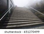 on a bad visibility day at... | Shutterstock . vector #651270499