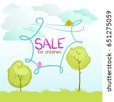 children's illustration of... | Shutterstock .eps vector #651275059
