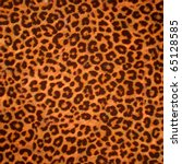 Leopard Skin Background Or...