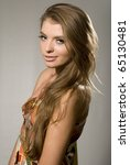 studio shot of a young... | Shutterstock . vector #65130481