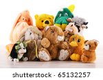 Stuffed Animal Toys On The...