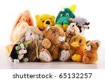 Stuffed Animal Toys On The...