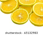 close up of sliced pieces of... | Shutterstock . vector #65132983