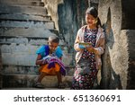 bagan  myanmar   february 03 ...   Shutterstock . vector #651360691