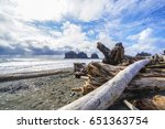 Amazing La Push Beach in the Quileute Indian reservation