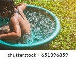 children play in the tub | Shutterstock . vector #651396859