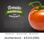 realistic vector background... | Shutterstock .eps vector #651412081