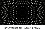 black and white stage lights | Shutterstock . vector #651417529