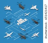 Military Air Force Isometric...