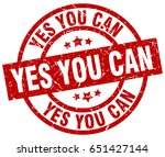 yes you can round red grunge... | Shutterstock .eps vector #651427144