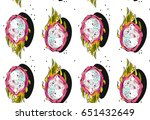 hand drawn vector abstract... | Shutterstock .eps vector #651432649