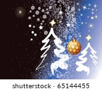 christmas tree | Shutterstock .eps vector #65144455