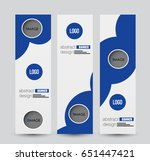 banner template. abstract... | Shutterstock .eps vector #651447421