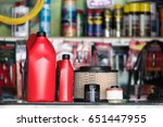 oil filter  air filter  oil... | Shutterstock . vector #651447955