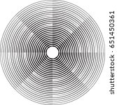 lines in circle form . spiral... | Shutterstock .eps vector #651450361