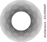 lines in circle form . spiral... | Shutterstock .eps vector #651450409