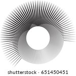 lines in circle form . spiral... | Shutterstock .eps vector #651450451