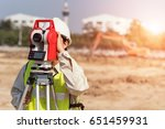 asia civil engineers at... | Shutterstock . vector #651459931
